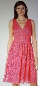 Maggy London Plead Lace Dress